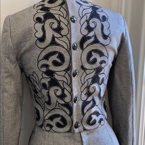 GIANNI VERSACE COUTURE JACKET & SKIRT SUIT